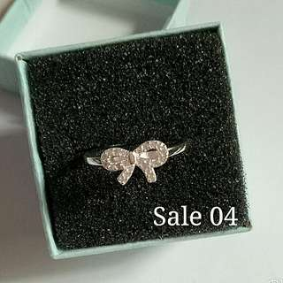92.5 Itlay silver ladies ring