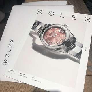 Rolex產品介紹書