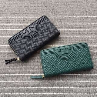 Tory Burch Fleming Zip Wallet