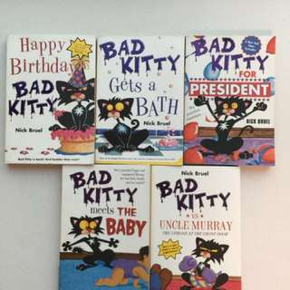 Bad Kitty, Nick Bruel 5本