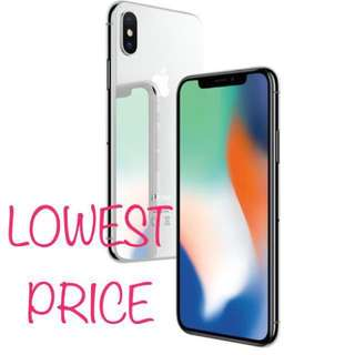 Brand New In Box - iPhone X 256GB Silver