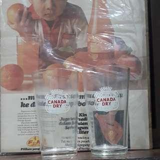 CANADA DRY GLASS