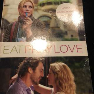Eat pray love movie cover Book
