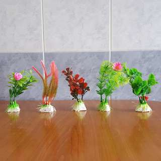 Mini Artificial Flowers and Plants
