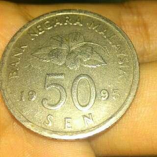50 Sen 1995 KEYDATE
