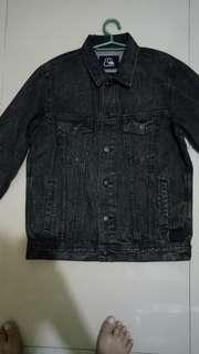 Quiksilver denim jacket size medium