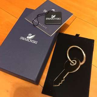 Swarovski home sweet home keychain brand new with box