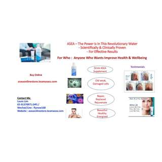 Revolutionary Water - Health Beauty Anti Aging Drink Inside Out