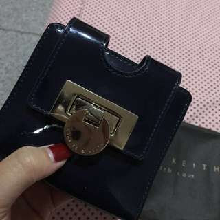 Charles & Keith Blue Navy Wallet