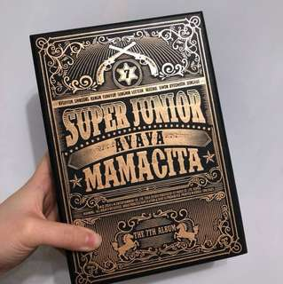 初代錯版Mamacita a version super junior 淨專