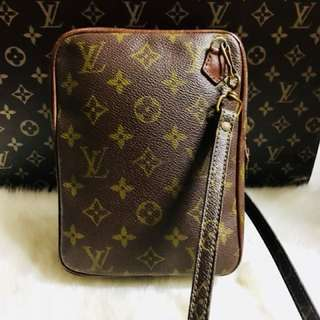 Authentic Vintage Louis Vuitton Danube Crossbody Bag Old Style