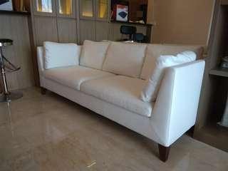 IKEA STOCKHOLM white sofa (reprice)