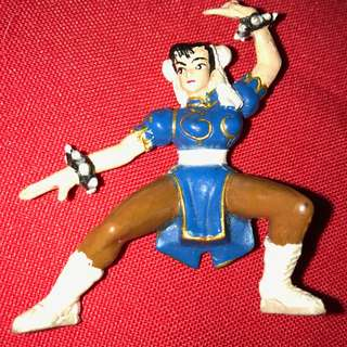 CHUN-LI   Charafull World - Final Warriors [Street Fighter II] RARE 1980s Japan