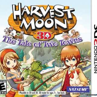 Harvest Moon: Tales of Two Towns (3DS)