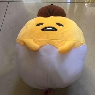 正品 三麗鷗 蛋黃哥 娃娃 玩偶 抱枕 枕頭