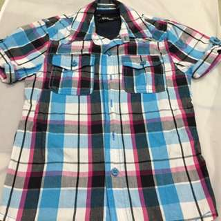 Original Kickers 2 in 1 shirt ( 6 yrs)