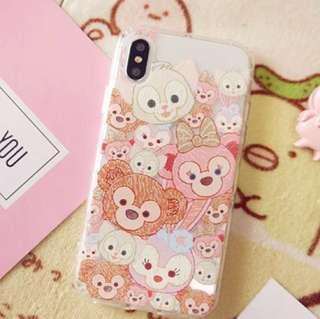 I phone x case Duffy and friends 手機殻