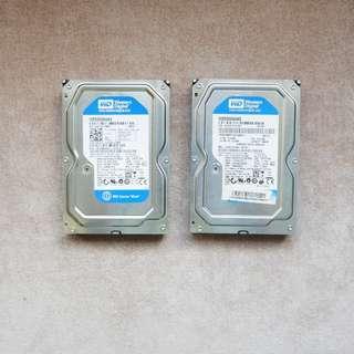 Western Digital 500 gb sata HDD