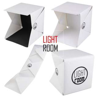 [Sales] Brand New Portable Mini Photo Studio Box Lightbox Light Tent With Built In LED Light