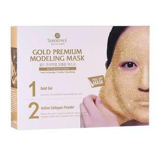 Shangspree Gold Premium Modeling Mask (5 sets)