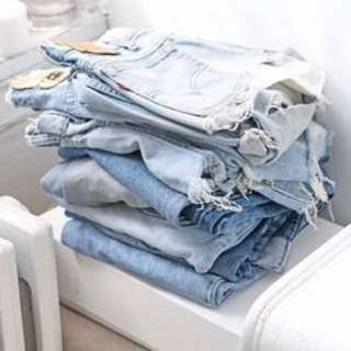 2 for $8.80  Mailed Denim / chiffon Shorts grab bag