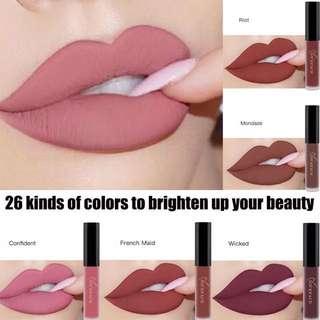 [PO] matte lip cream