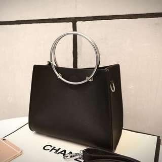 [PO] Ring handle handbag