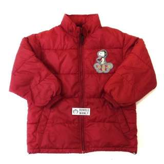PEANUTS JACKET WITH HOODED (KIDS)