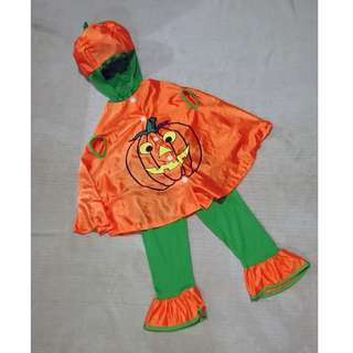 Kids Pumpkin Costume | 3-4 yrs old