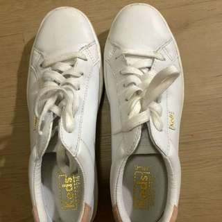 Keds White Shoes Size 6 1/2