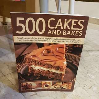 Baking Book - 500 Cakes and Bakes
