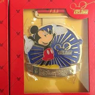迪士尼會員徽章 Disney pin