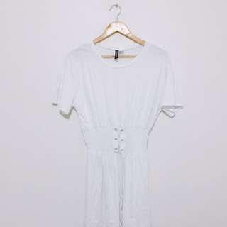 DIVIDED BY H&M WHITE DRESS