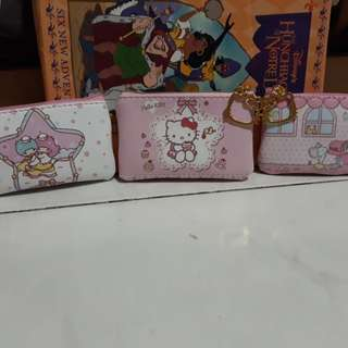 Hello Kitty coin purse and Hello Kitty small notebook