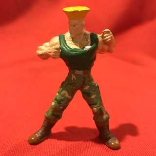 GUILE - Charafull World - Final Warriors [Street Fighter II] RARE 1980s Japan