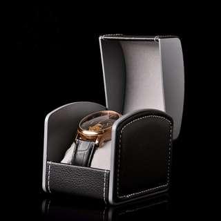 Watch Box (Leather & Plastic)