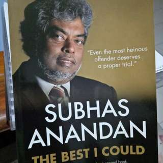 Subhas Anandan- The best I could