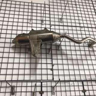 毒蛇R7回壓 白鐵 BWS一二代直上