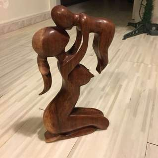 Handcraft wooden decoration