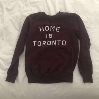 Home Is Toronto Sweater