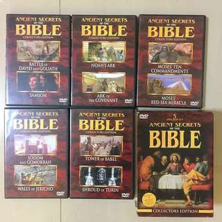 Original 5 DVD 📀 Box Set Ancient Secrets Of The Bible