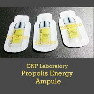 Korea CNP Laboratory : Propolis Energy Ampules Trial Size Skincare Samples Travel Sellzabo Skin Face Facial Care Essence Serum Satchets