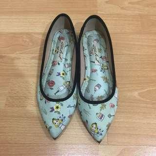 ittaherl flat shoes (seri alice in wonderland)