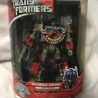 Transformers the movie Leader Class optimus prime I