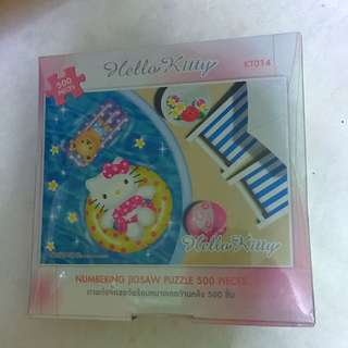 BN Sanrio Hellokitty Puzzle (Authentic)