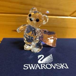 Swarovski 小熊 熊仔 水晶擺設