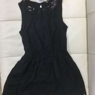 Kid's Grafitti Black Dress