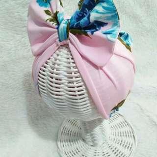 Turban flower pink