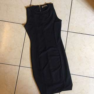 DRESS - black Pull n Bear