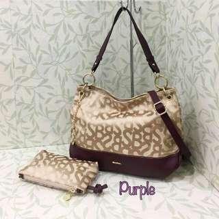 Sembonia Tote Purple Bag